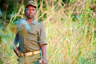 Ali Bacar is the head ranger at Mareja. He's been a ranger for over 12 years at the reserve, and had formal training with the national park service at Gorongosa Park in the center of the country.